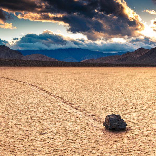 Lone Pine / Údolí smrti - 373 km