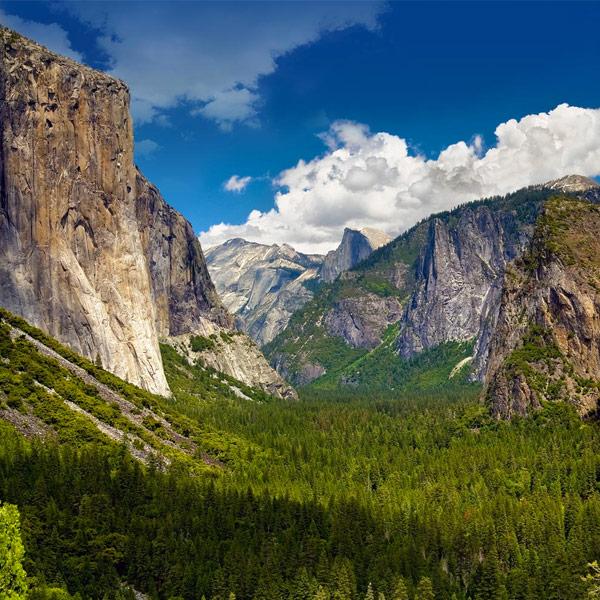 Mariposa / Yosemitský park - 203 km